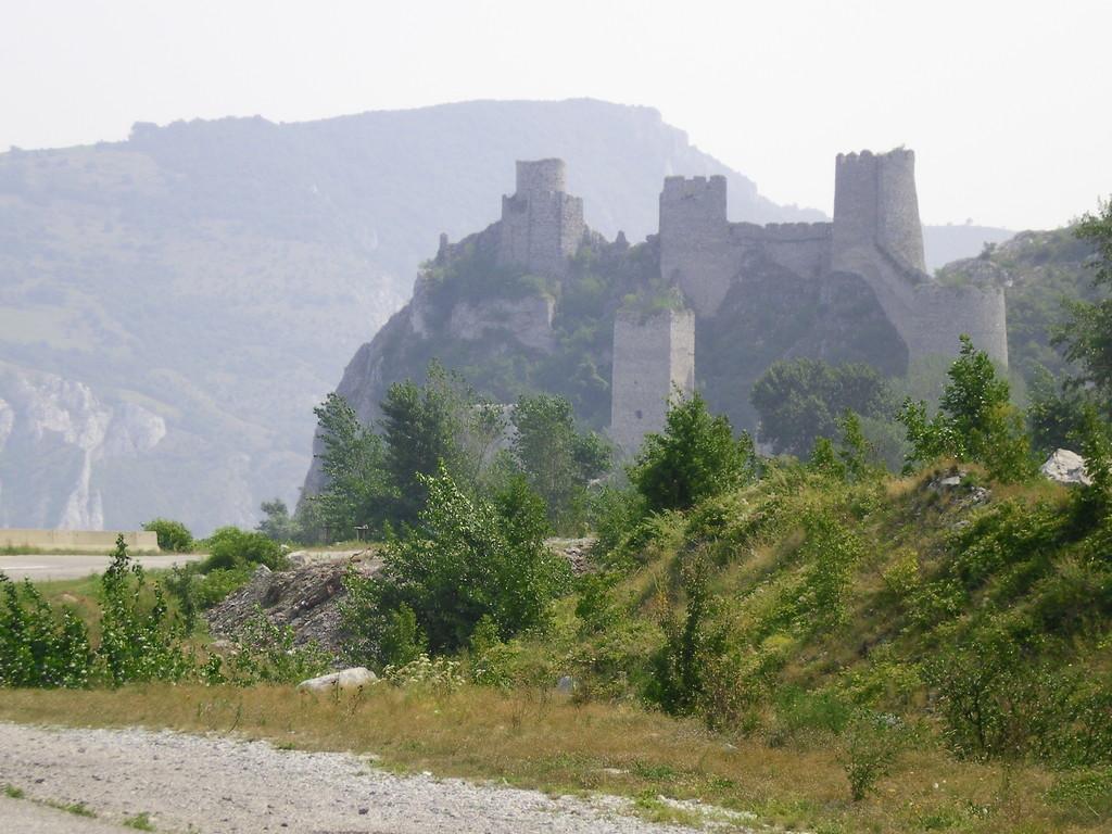 La forteresse de Golubac.