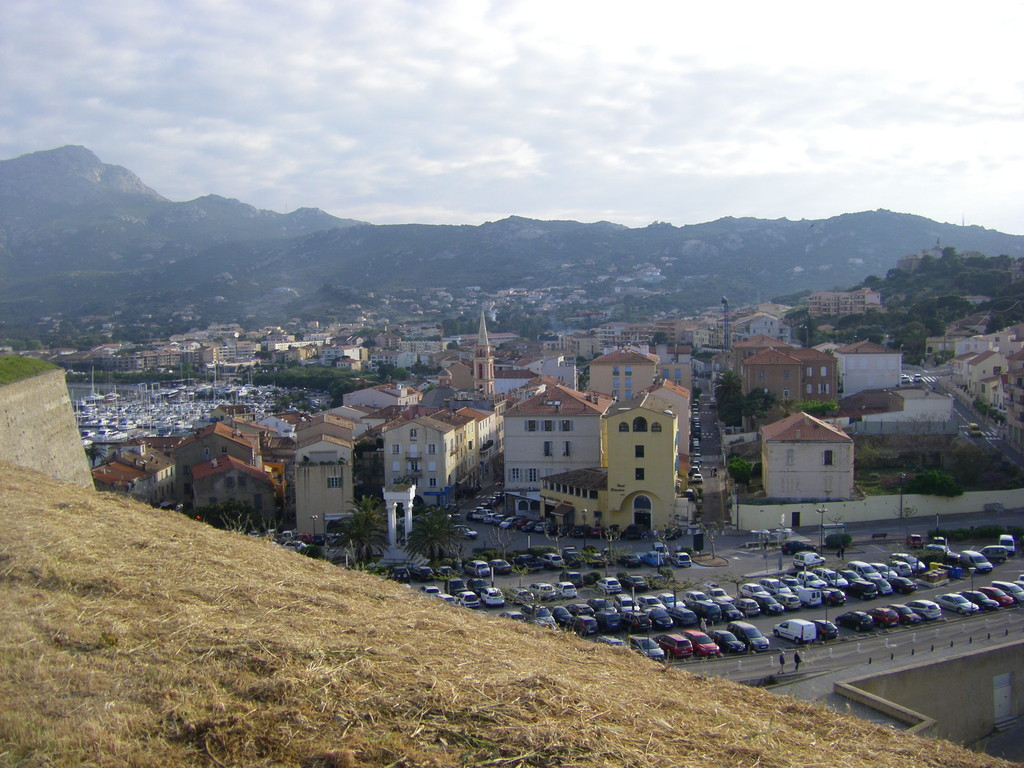 Calvi depuis la forteresse.