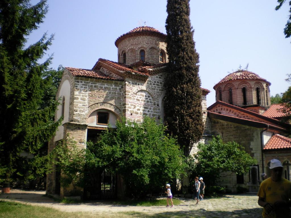 Le monastère de Backovo.