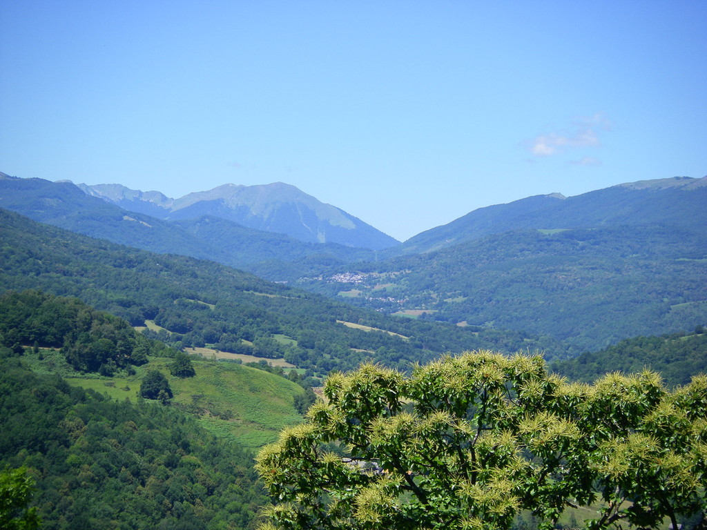 On débute le col de Saët.