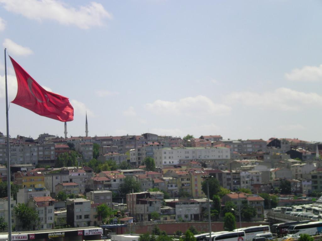 Les premiers tours de roues à istanbul.