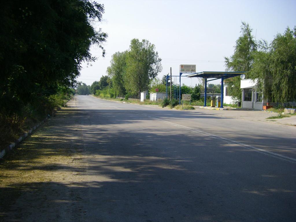 A la sortie de Bregovo : les premiers tours de roue en Bulgarie.