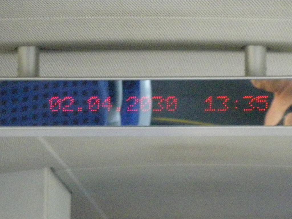 Le train pour Kyustendil en avance sur son temps !!!!