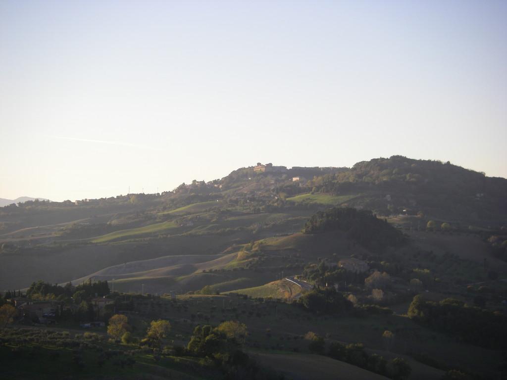 Tout en haut : Volterra !!!