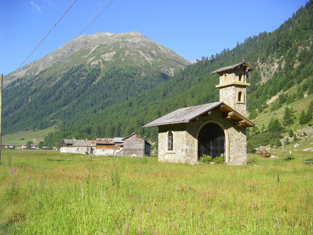 A la sortie de Livigno.