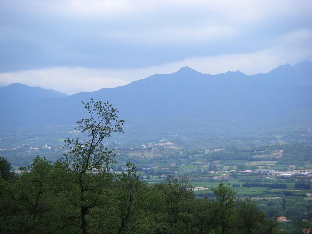 Dans les premiers hectomètres du col de Roque-Jalère.