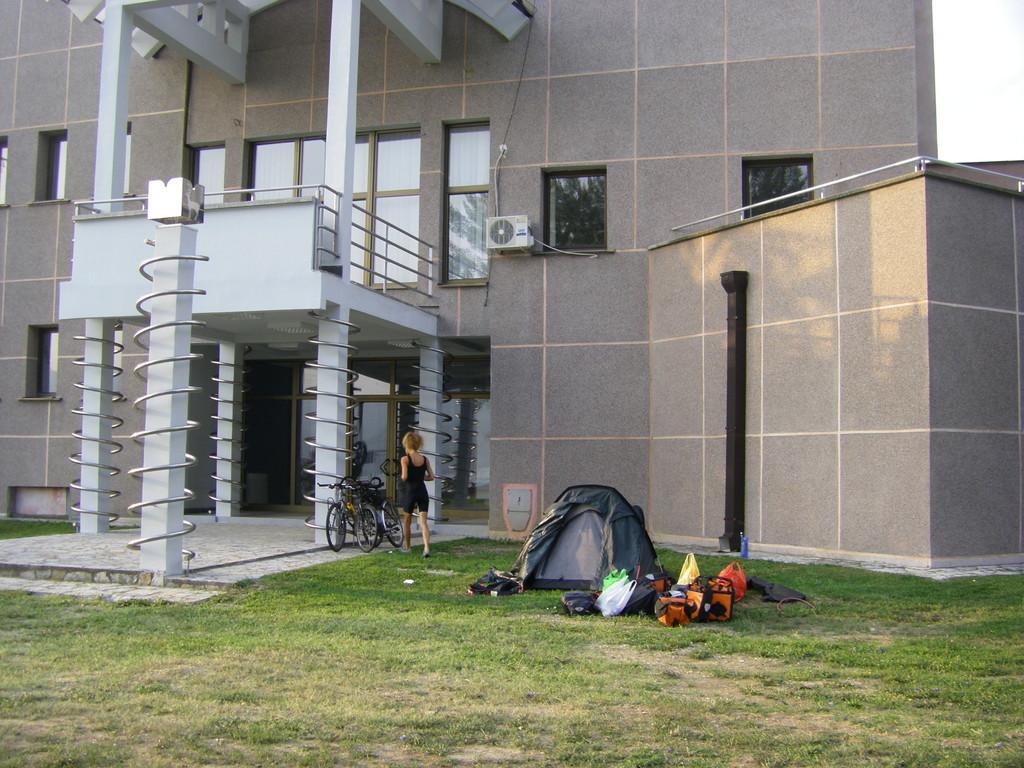 Le site de camping à Klagovo.