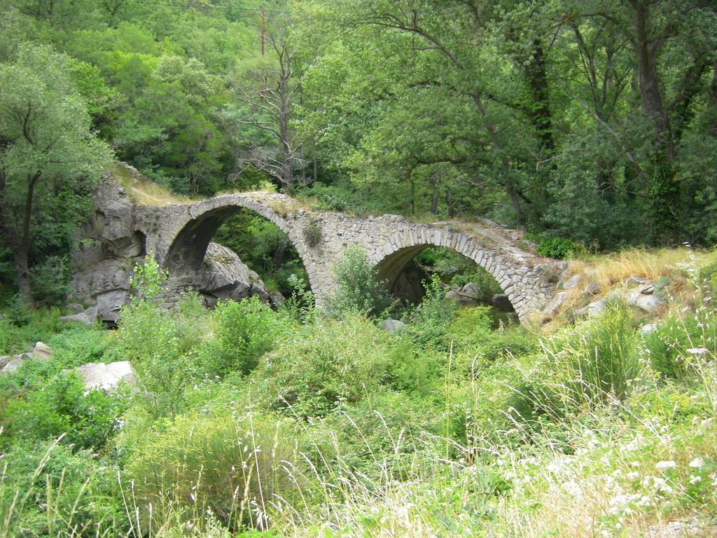 Pont de Roquevert entre Sournia et Trévillach.