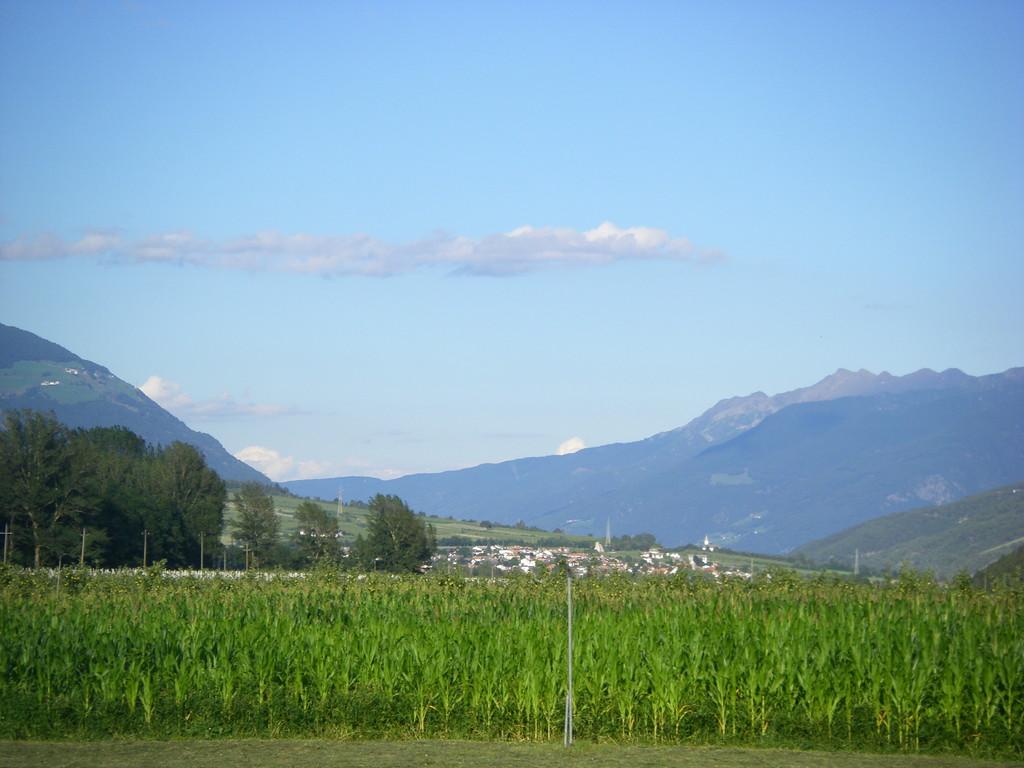 Voilà Prato allo Stelvio, terme de l'étape.