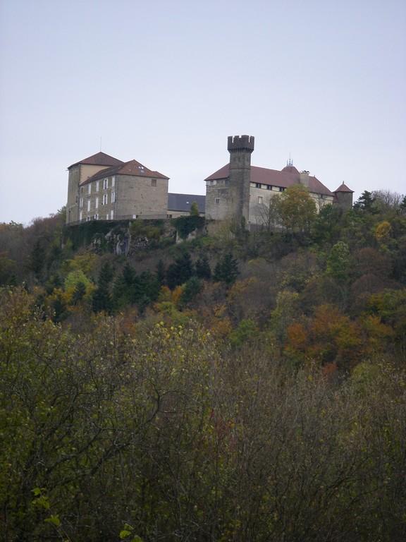 Le château de Cressia
