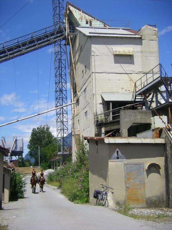 Les chevaux sont également acceptés sur la véloroute !