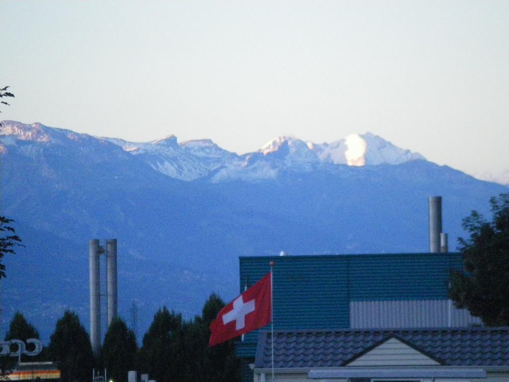 Pas de doute ! Nous sommes en Suisse !