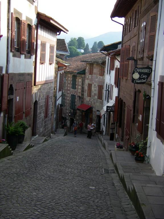 La rue de la Citadelle.