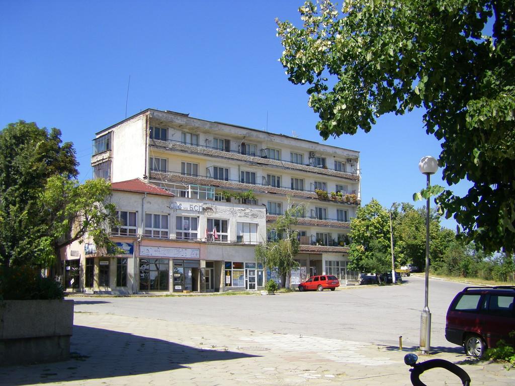 Le centre de Simeonovgrad.