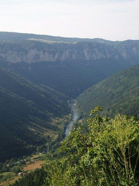 Les gorges du Tarn.