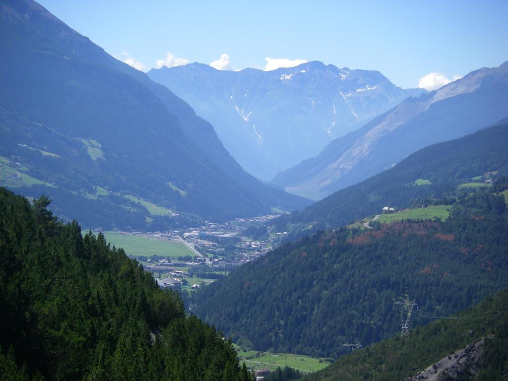 La vallée de Bormio.