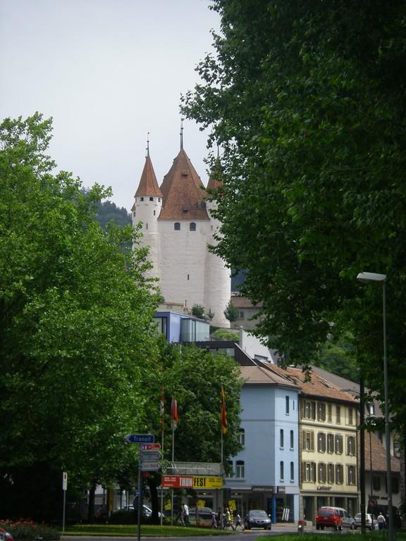 Thun et son château.