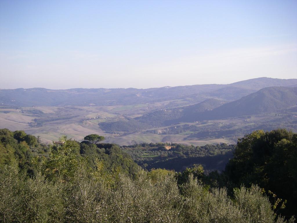 Une vue depuis Volterra