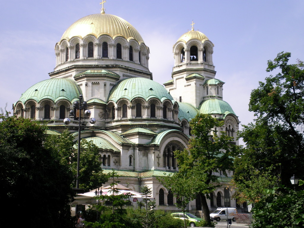 La cathédrale de Sofia.