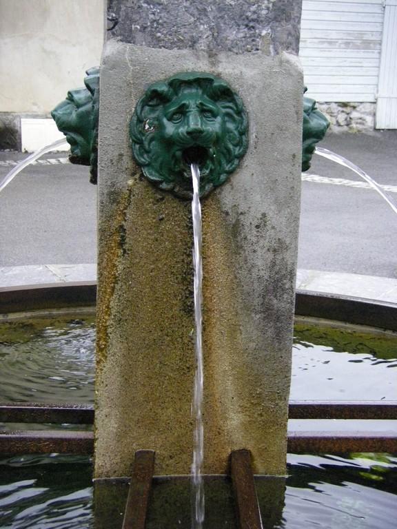 Une des fontaines de Larrau.