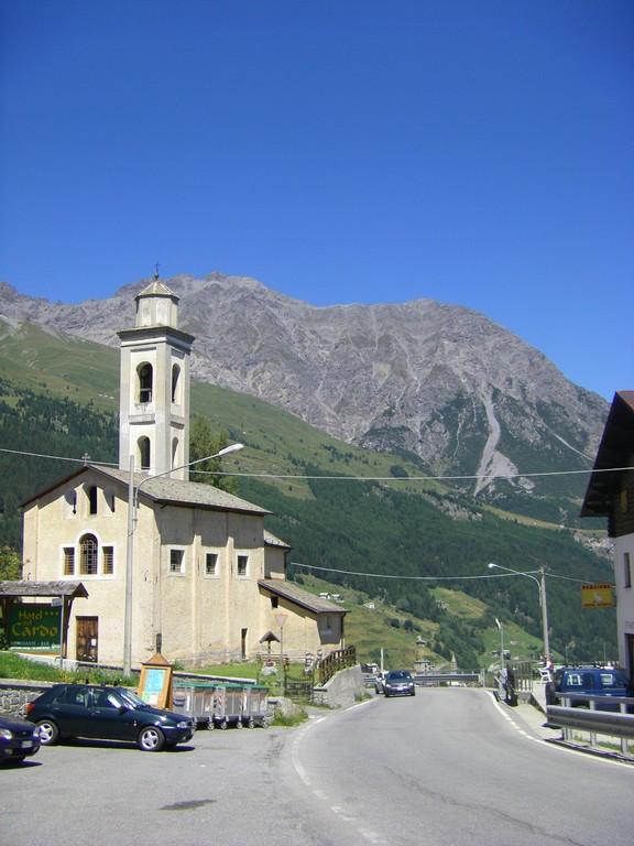 San Carlo dans le passo di Foscagno.