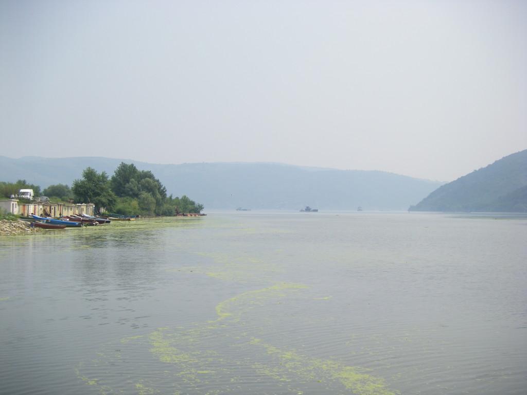 Pendant la traversée du Danube.