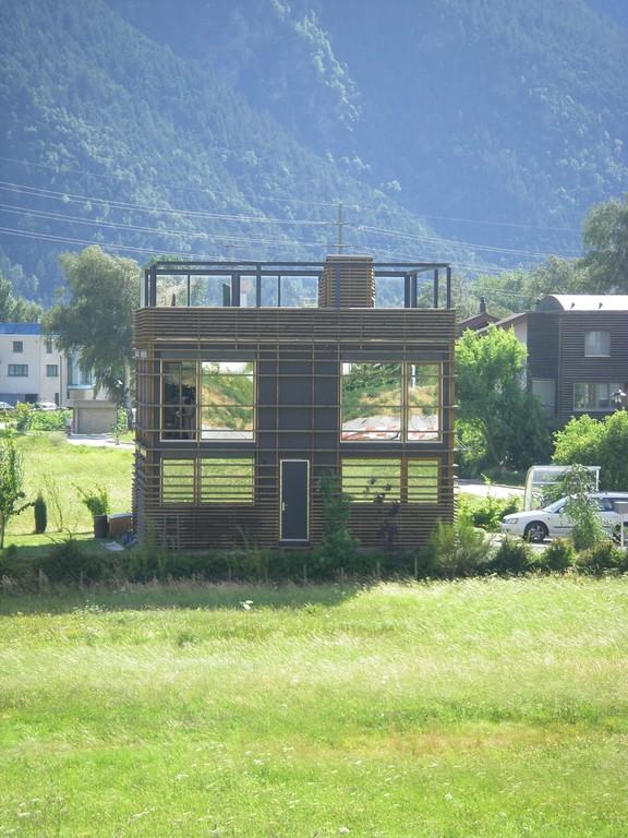 Une maison originale à Visp.