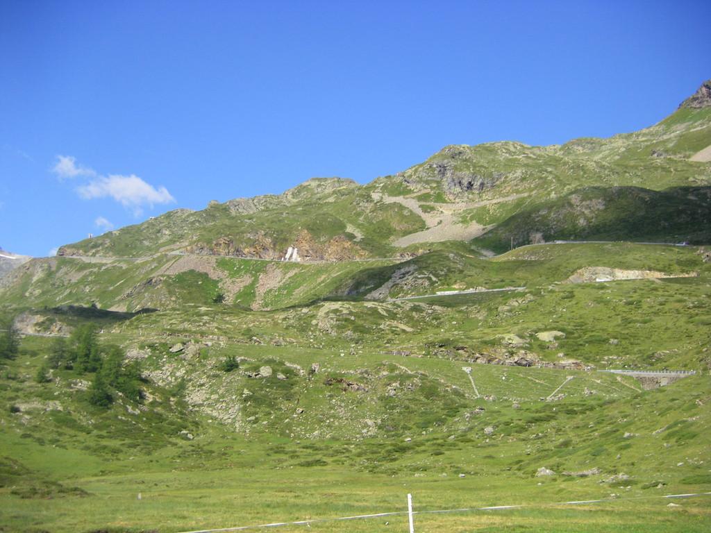 Le passo Bernina.