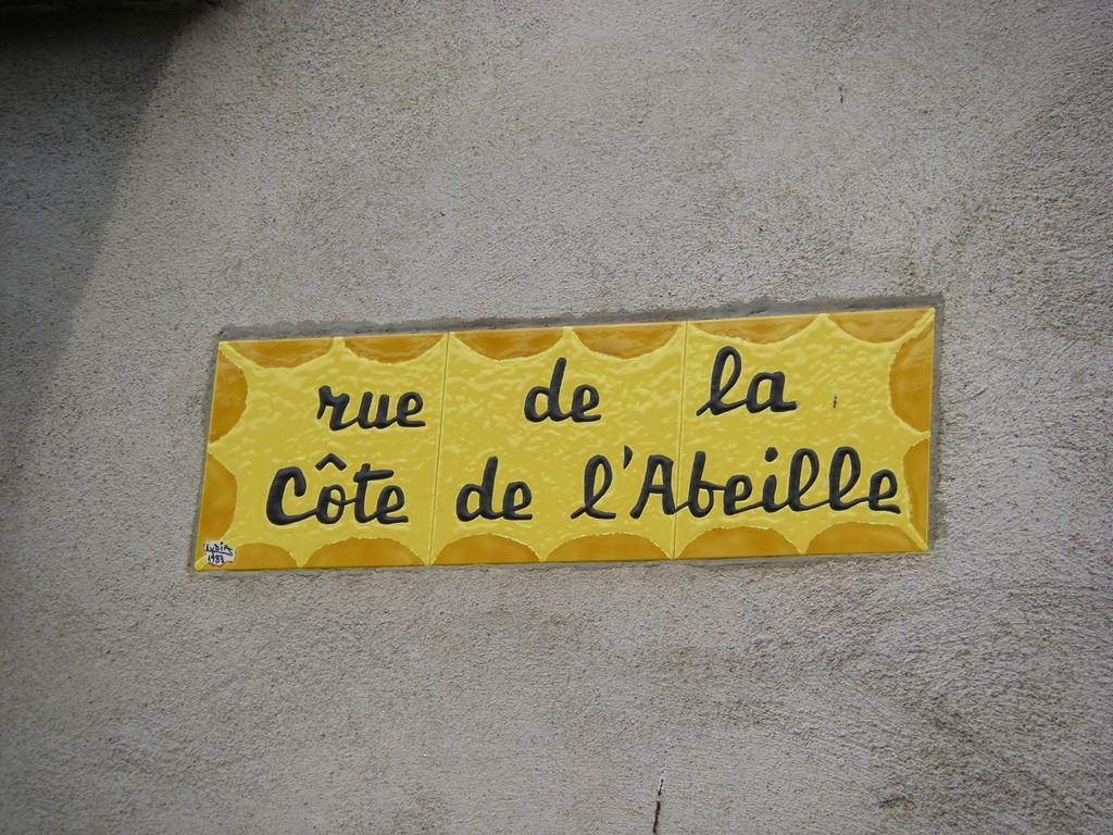 Plaque de rue de Sournia.