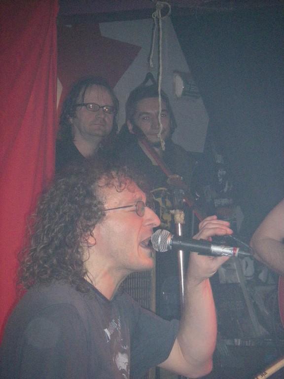 Marcor et Boris (batteur de la Fraction) jouent les deux vieux du Muppet's show
