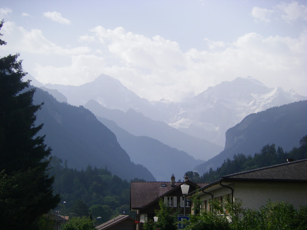 Une dernière vue sur les montagnes.