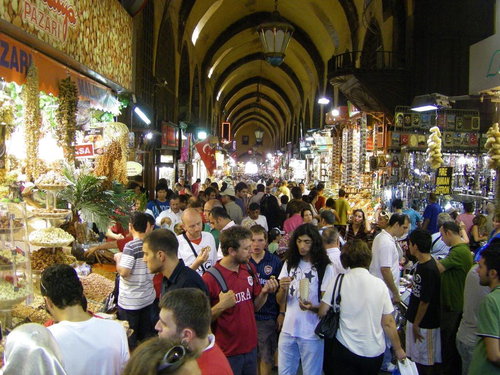 Dans la marché égyptien.