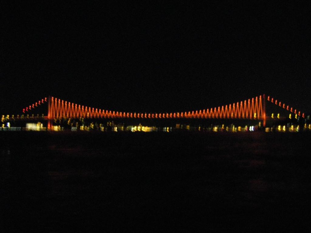 Le pont sur le Bosphore.