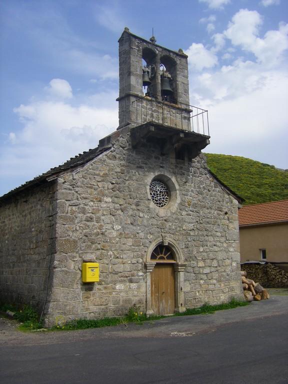 L'église de Cheylard l'Evêque