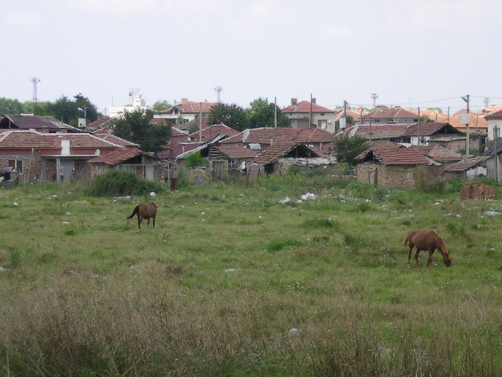 Les faubourgs de Svilengrad.