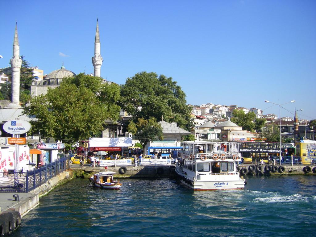 Le port du quartier d'Üsküdar.