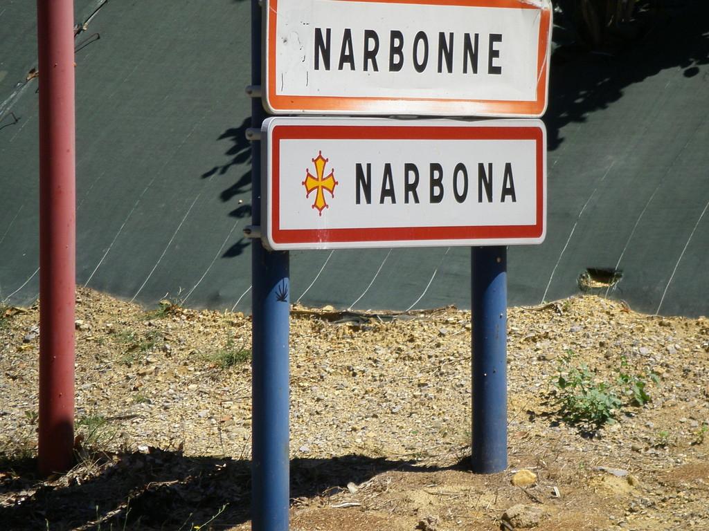Arrivée à Narbonne.
