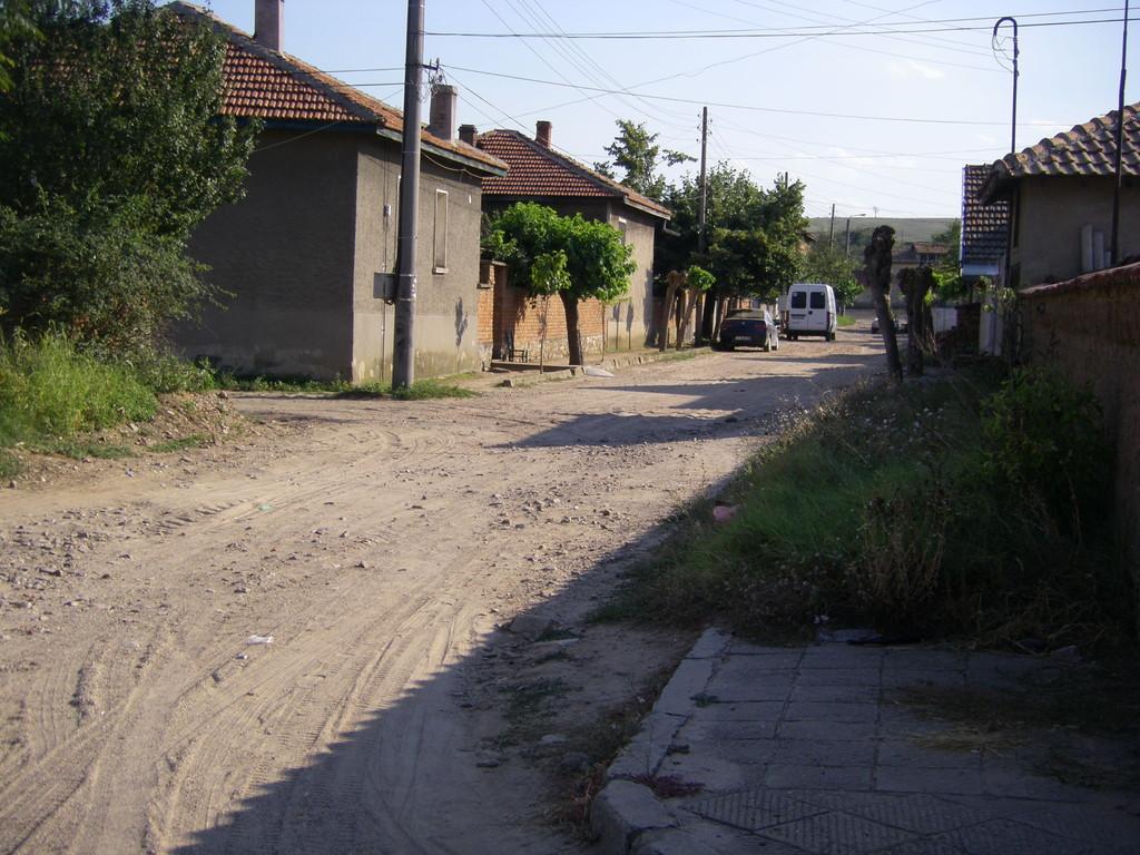 Une rue de Bicer.