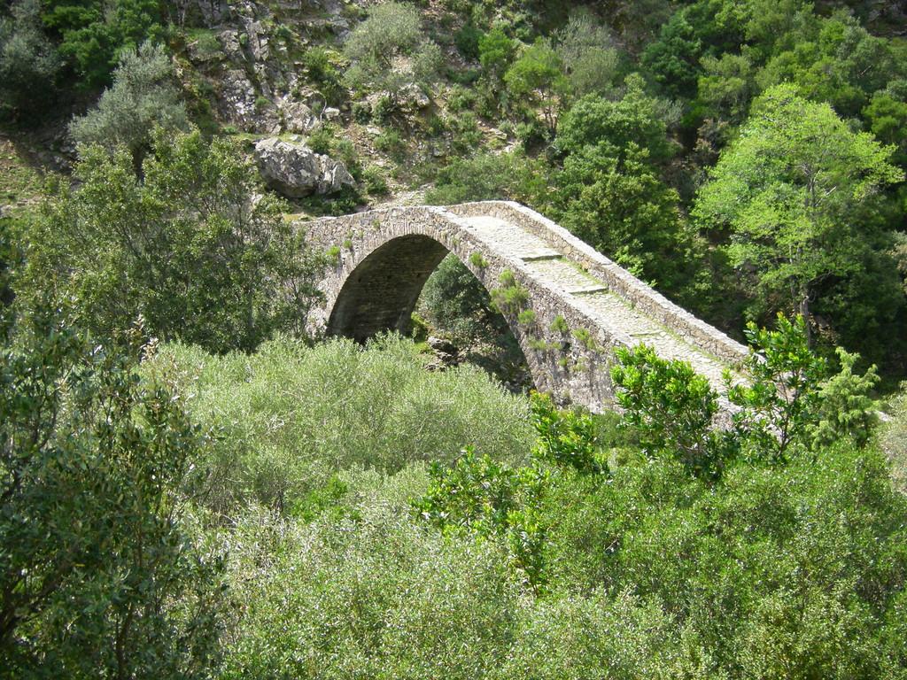 Le pont gênois près d'Ota.