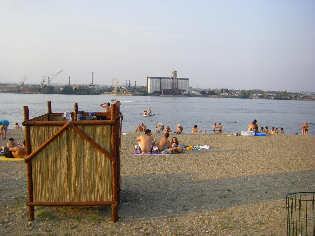 La plage de Klagovo.