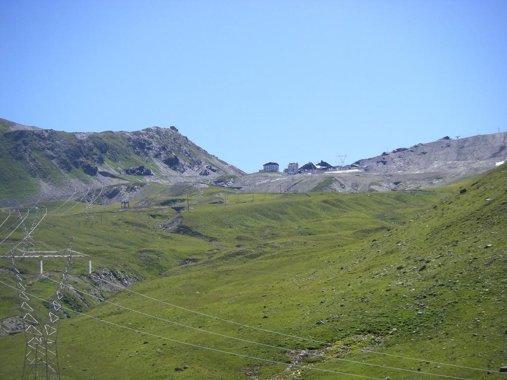 Le sommet du col après quelques kilomètres de descente.