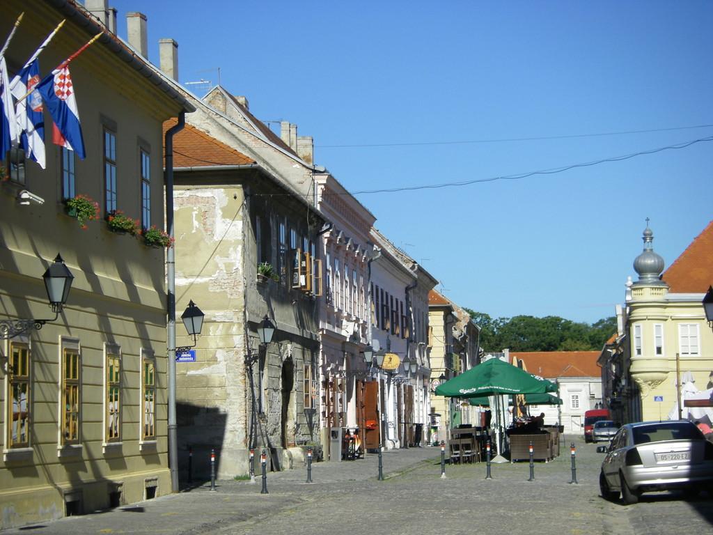 La vieille ville d'Osijek.