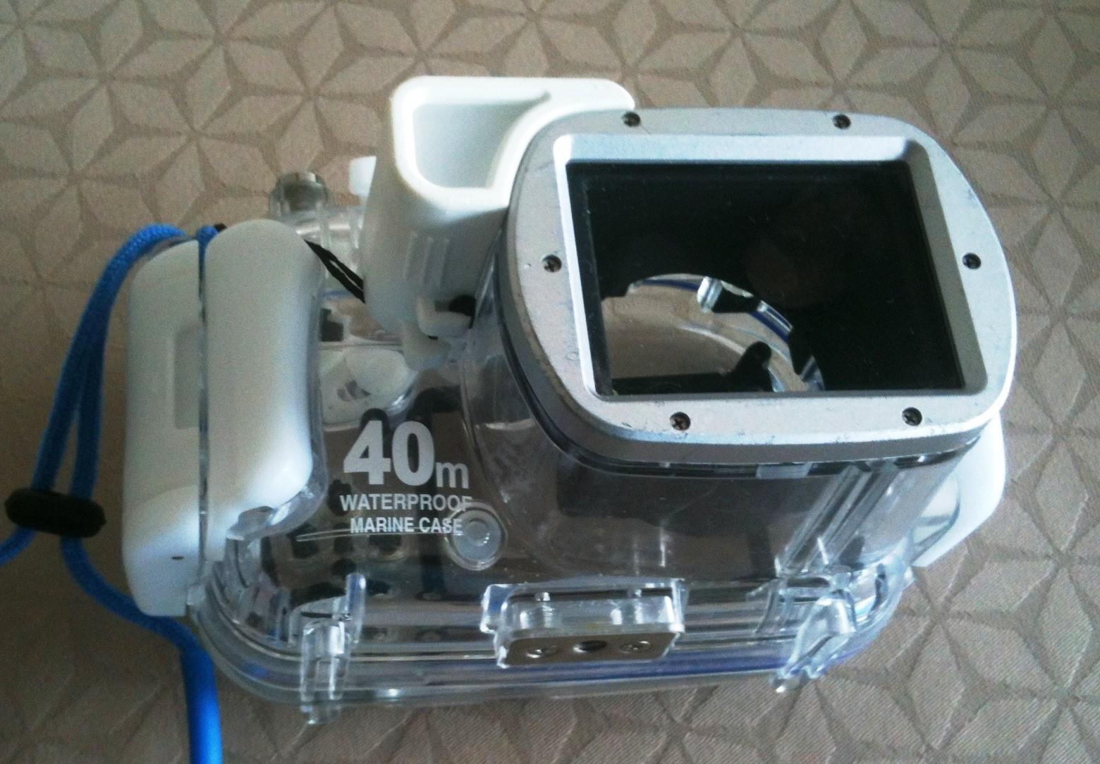 Boitier étanche 40m DMW-MCTZ3 pour Appareil photo Lumix Panasonic - Vue 2