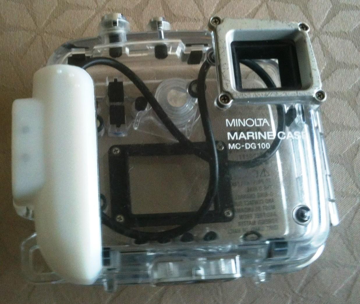 Boitier étanche MARINE CASE MC-DG100 pour appareil photo MINOLTA - Vue 1