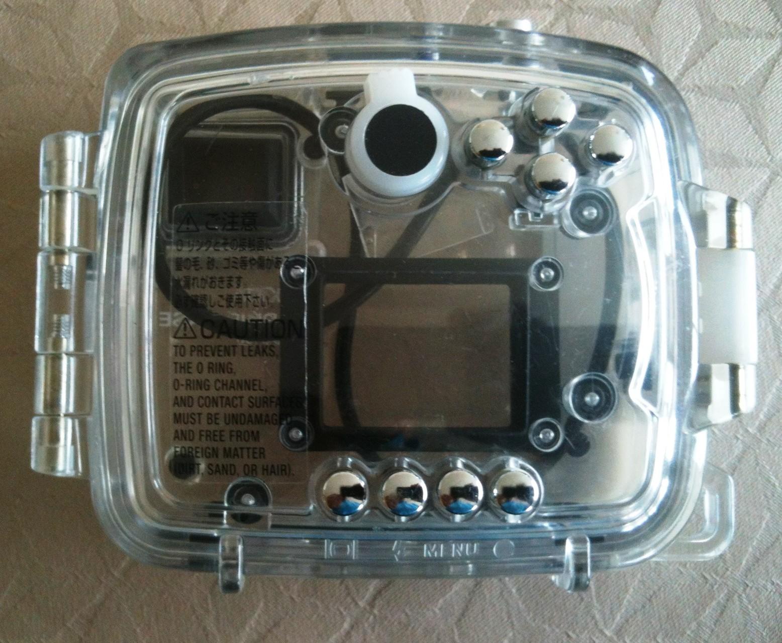 Boitier étanche MARINE CASE MC-DG100 pour appareil photo MINOLTA - Vue 2