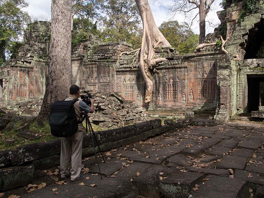2013. Ta Prohm. Cambodia. © Phalika Ngin