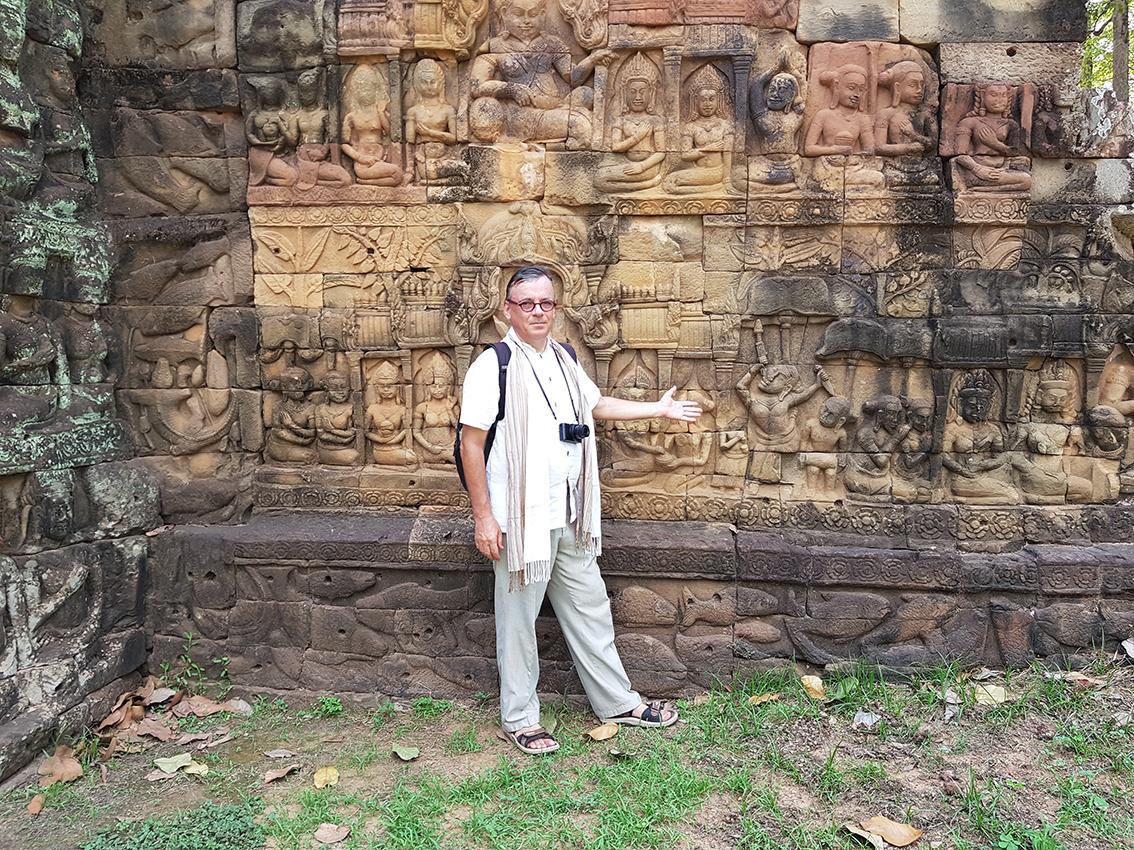 2020. Angkor Thom. Siem Reap. Cambodge