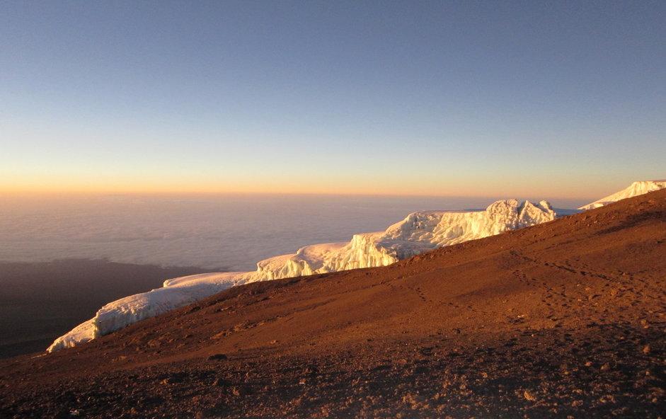 Sunrise On Mount Kilimanjaro - Kilimanjaro Company