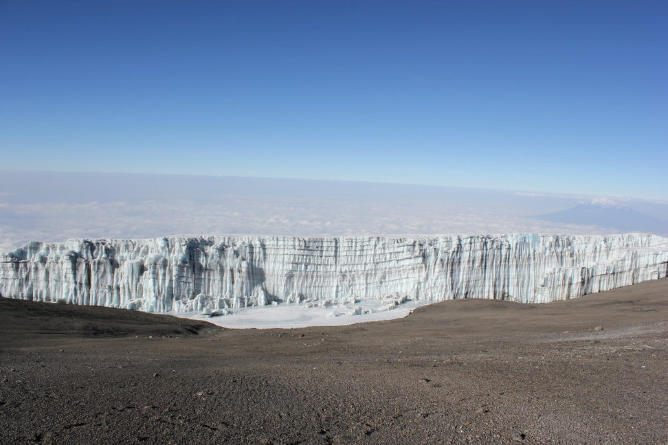 Kilimanjaro Glacier Picture