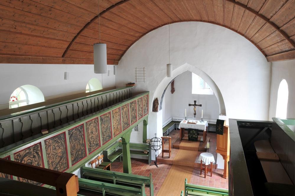 Kirche in Einartshausen innen